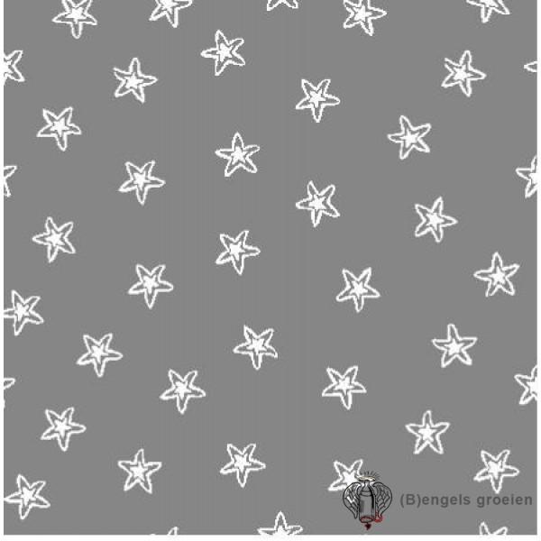 Hydrofiel washandjes - Starfish - Grijs (3 st.)