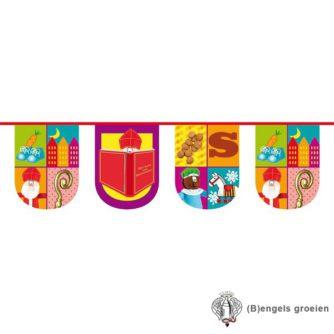 Sint en Piet - Vlaglijn - Halfrond - 10 m