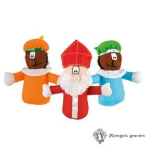 Sint en Piet - Speelpoppetjes - 10 cm