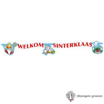 Sint en Piet - Wenslijn - Welkom Sinterklaas