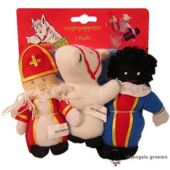 Sint en Piet - Vingerpopset