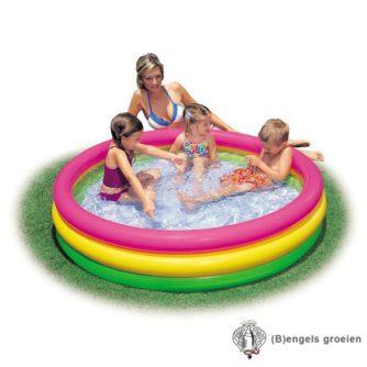 Zwembad - 3 gekleurde ringen - 114 x 25 cm