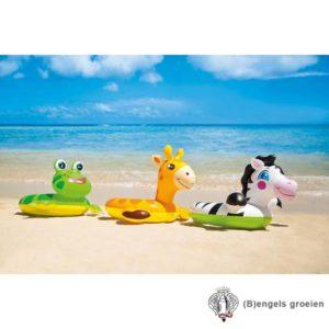 Zwemring - Opblaasbaar - Split - Dieren - Zebra