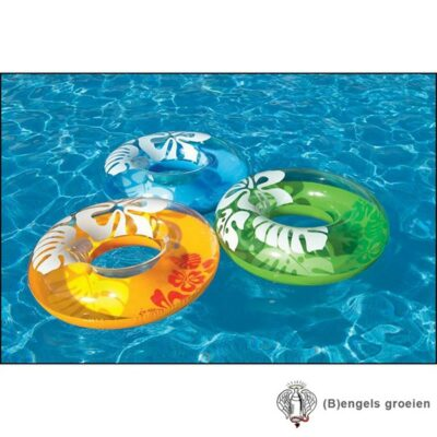 Zwemband - Opblaasbaar - Color Tubes - Ass