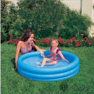 Zwembad - Crystal Blue - 3 Ringen - 114 x 25 cm