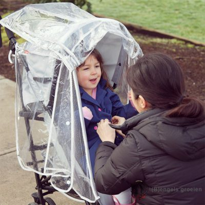 Universele Buggy Regenhoes - Stroller Rain Cover