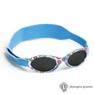 Zonnebril - UV - Bloemen - Blauw - 0 - 2 jr