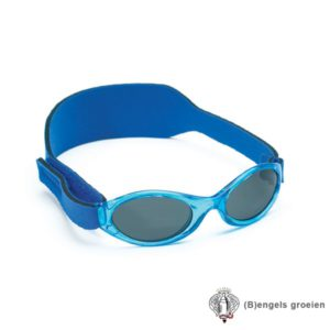 Zonnebril - UV - Helderblauw - 0 - 2 jr