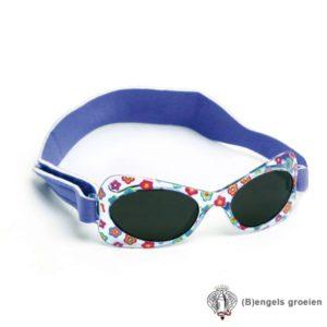 Zonnebril - UV - Bloemen - Paars - 2 - 5 jr