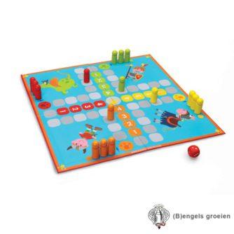 Spel - Ladders & Zwaarden En Ludo - Viking & Ridder
