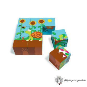Blokkenpuzzel - Bos