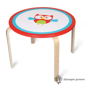 Tafel - Rond - Uil Lou
