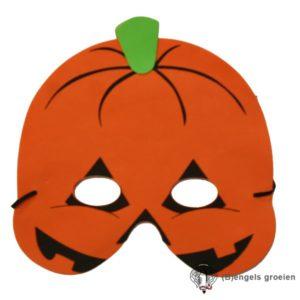 Halloween - Foam Masker - Pompoen