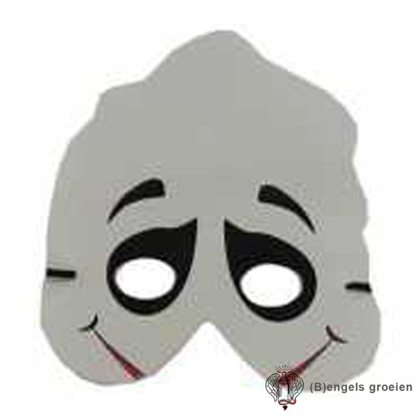 Halloween Masker Maken.Halloween Foam Masker Spook