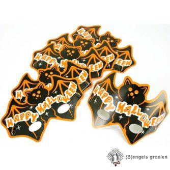 Halloween - Maskers - Vleermuis - 6 st