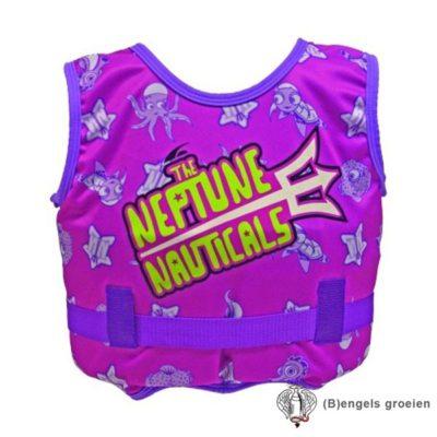 Kinder Zwemvest - Neptune Nauticals - Roze - 2-4 jr