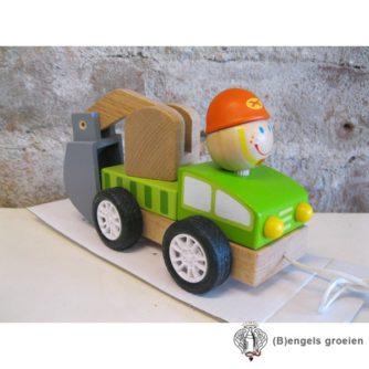 Vrachtwagen - Graafmachine