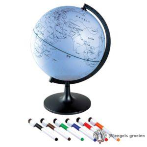Wereldbol - Draaibaar - Zelf in te Kleuren