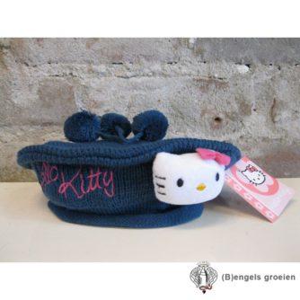 Muts / Baret - Hello Kitty - Blauw - 52 cm