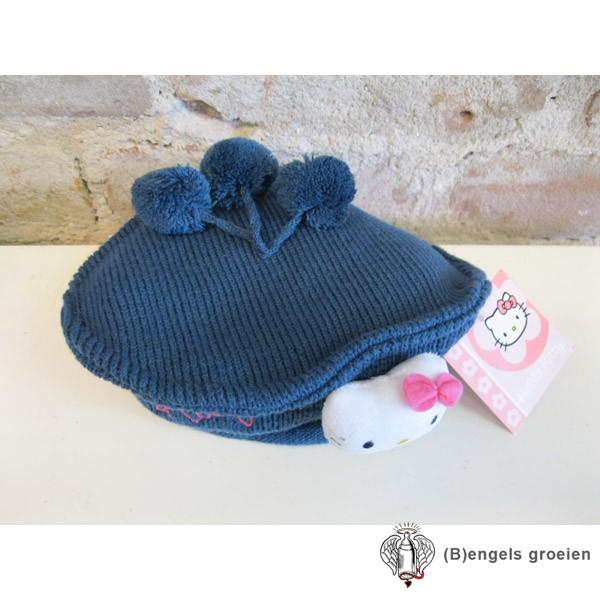 Muts / Baret - Hello Kitty - Blauw - 54 cm