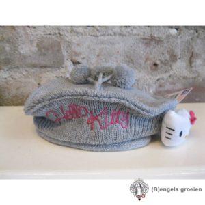 Muts / Baret - Hello Kitty - Grijs - 52 cm
