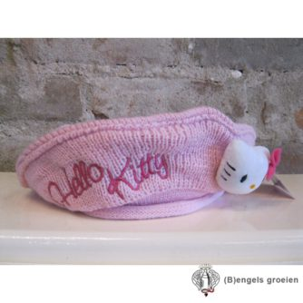 Muts / Baret - Hello Kitty - Roze - 52 cm