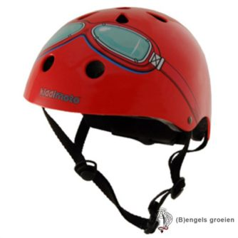 Helm - Goggle - Rood - S