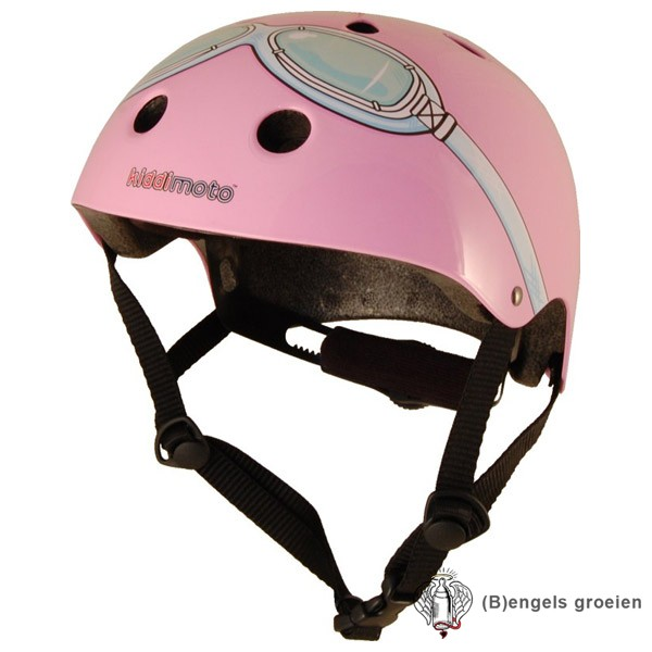 Helm - Goggle - Roze - M