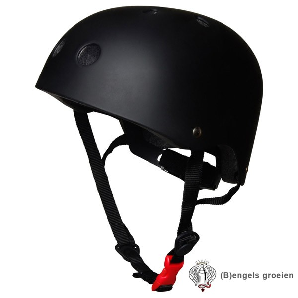 Helm - Mat Zwart - M