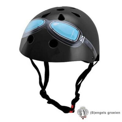 Helm - Goggle - Zwart - M
