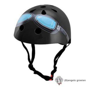Helm - Goggle - Zwart - S