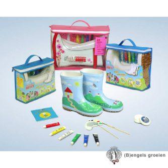 Beschilderbare Regenlaarzen - Paintable Boots - 33-34