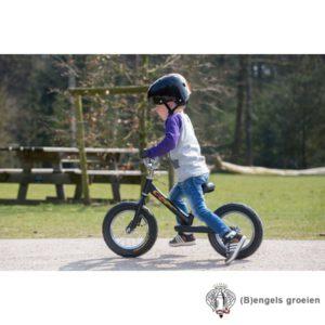 Loopfiets - Wheelyrunner - Mat Zwart