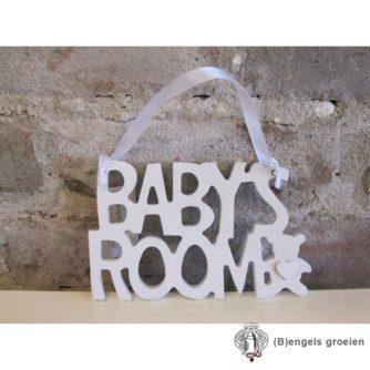 Deurtekst - 'Baby's Room'