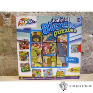 Blokpuzzel - Blauw