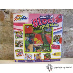 Blokpuzzel- Roze