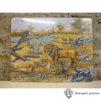 Puzzel - Wilde dieren - 85 stukjes