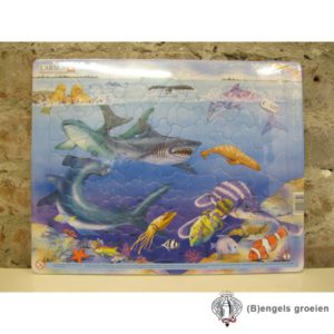 Puzzel - Zeedieren - 92 stukjes