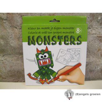 Kleur En Maak Je Eigen - Monsters