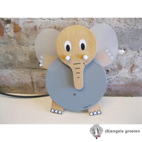Muurlampje - Olifant